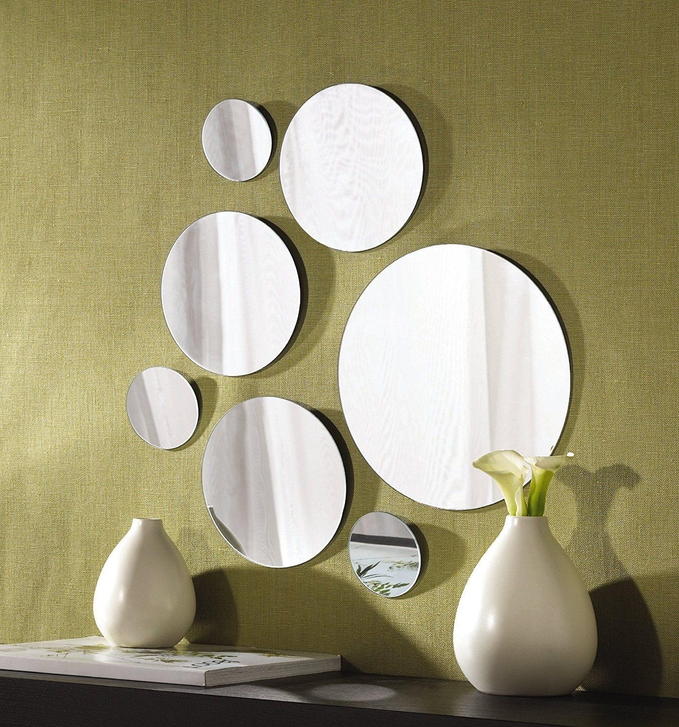 Small Gold Mirror Set Best 15 43 Of Small Round Mirrors Wall Art