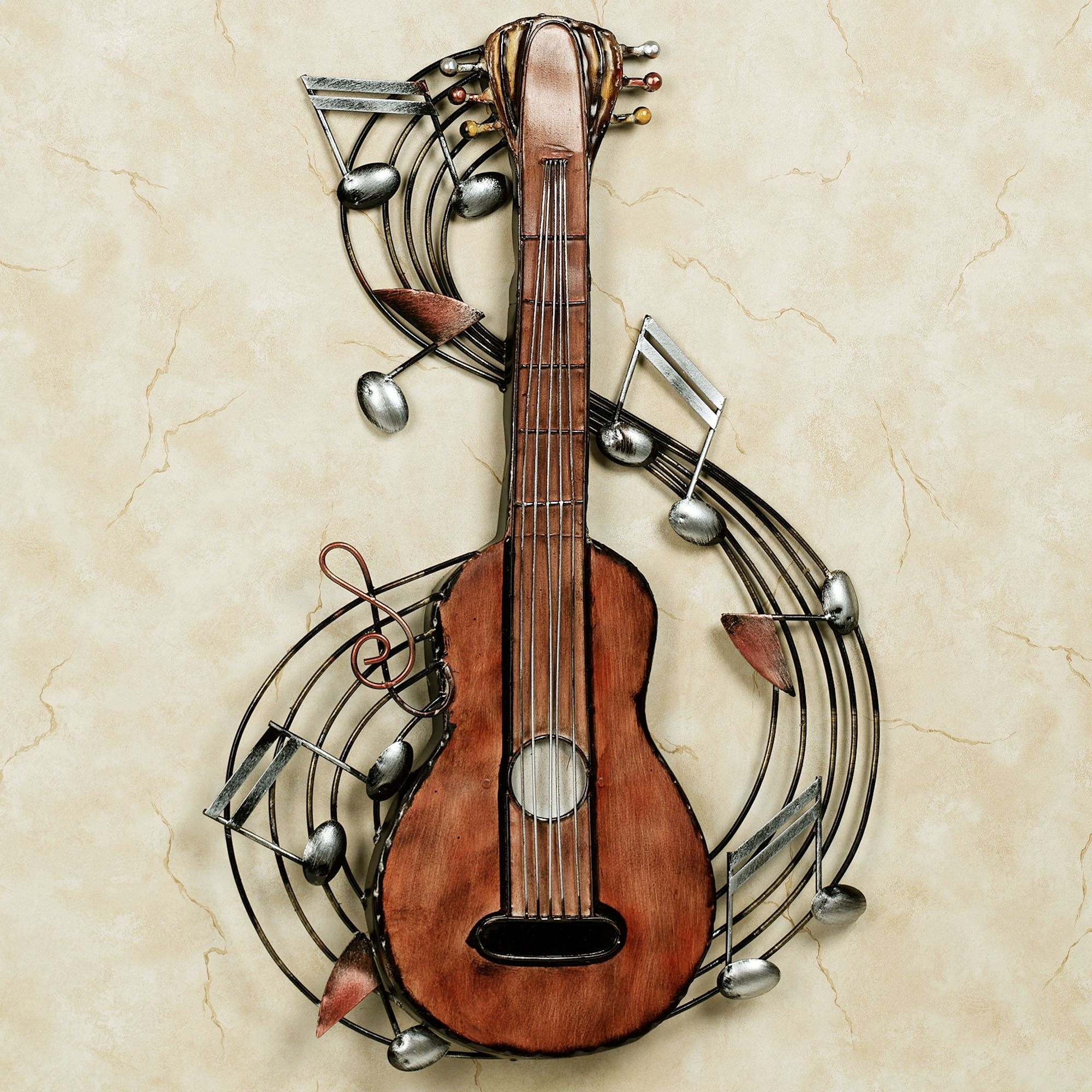 Metal Music Wall Art 2018 Latest Musical Instrument Wall Art