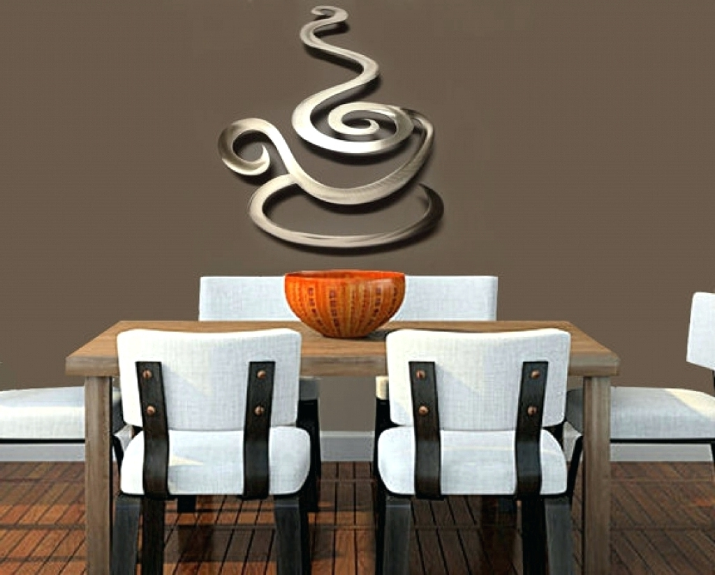 Wall Decoration Murale 15 Best Collection Of Coffee Theme Metal Wall Art