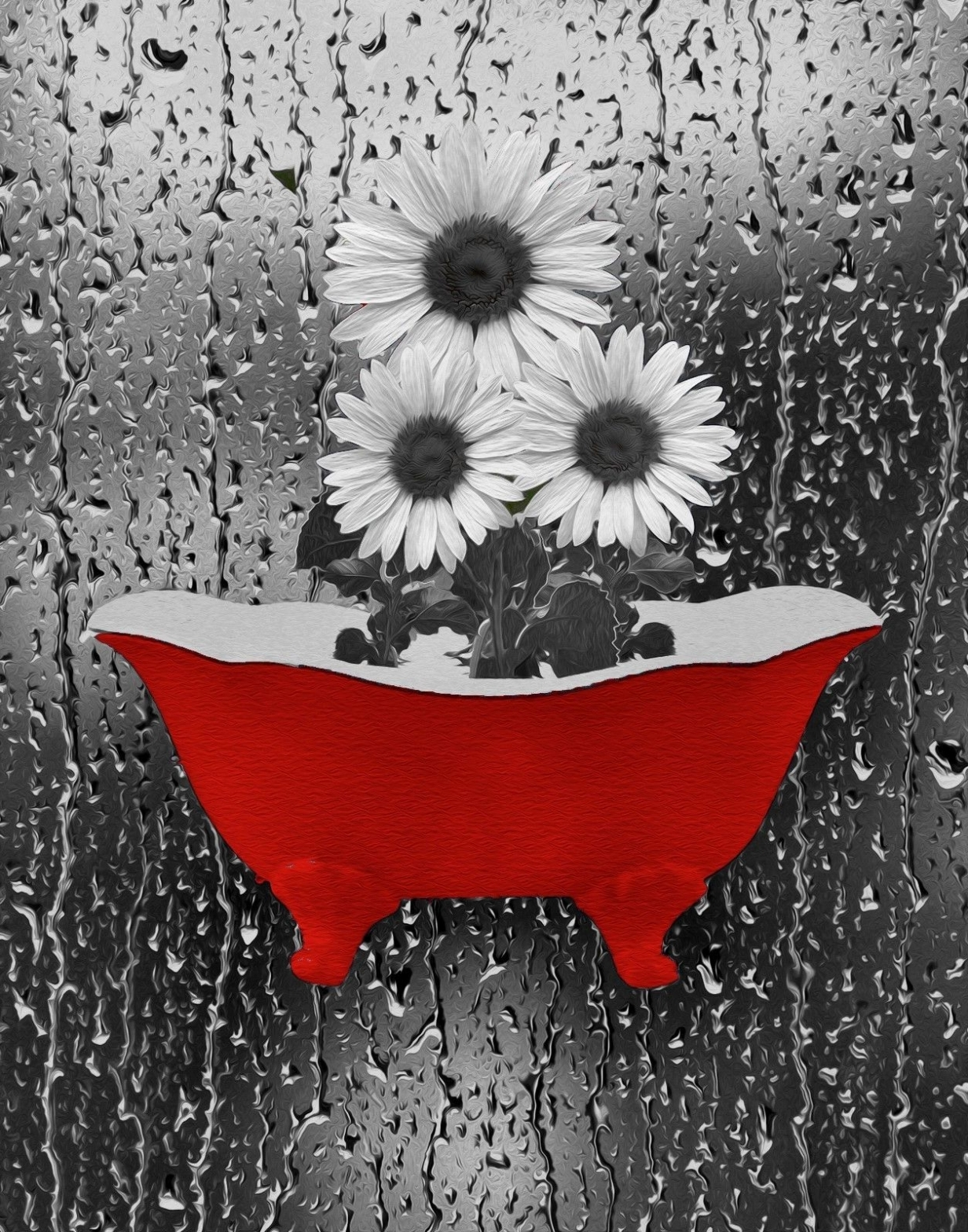 Black And White Art Ideas 2018 Popular Red Bathroom Wall Art