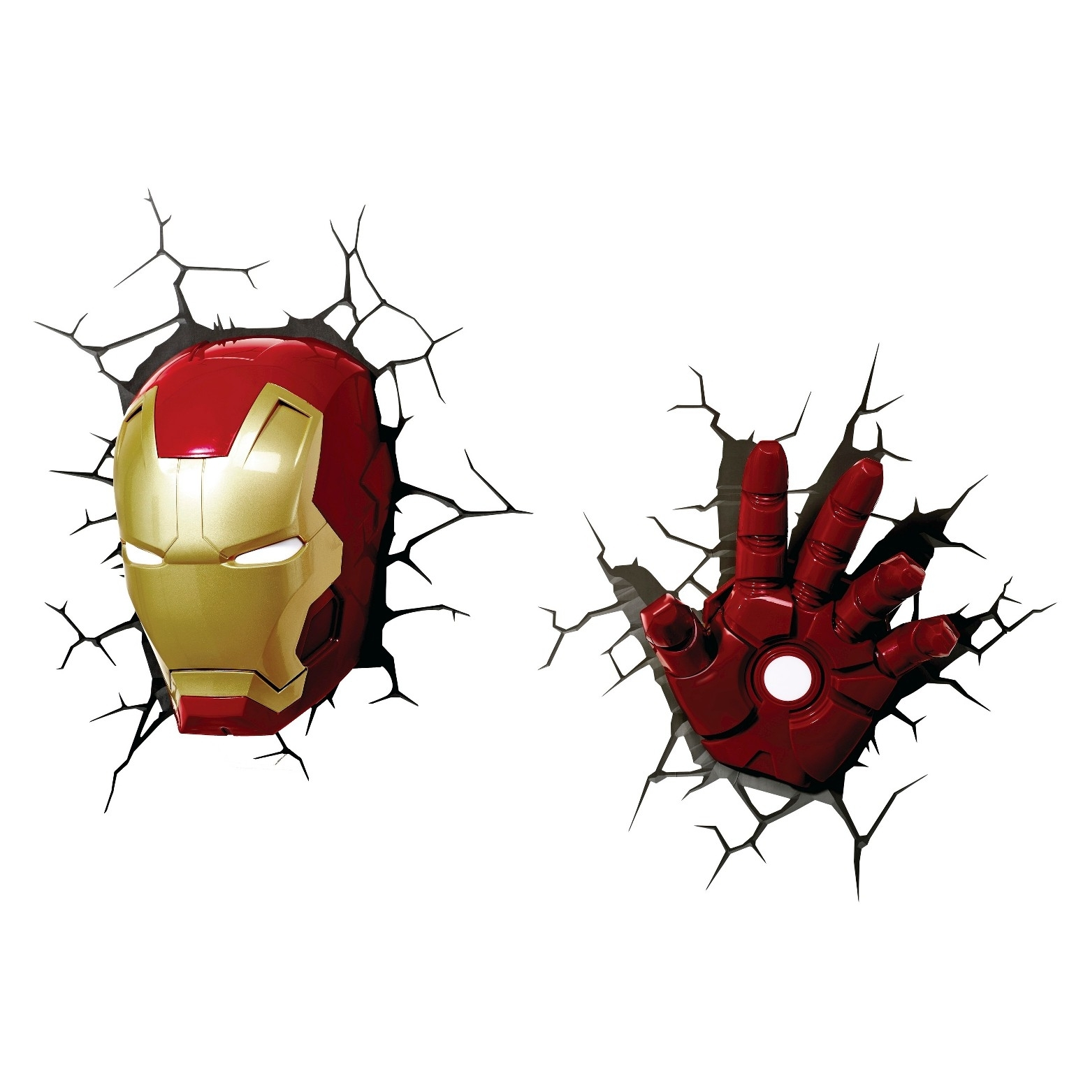 3d Wall Art Night Light 15 Photos 3d Wall Art Iron Man Night Light