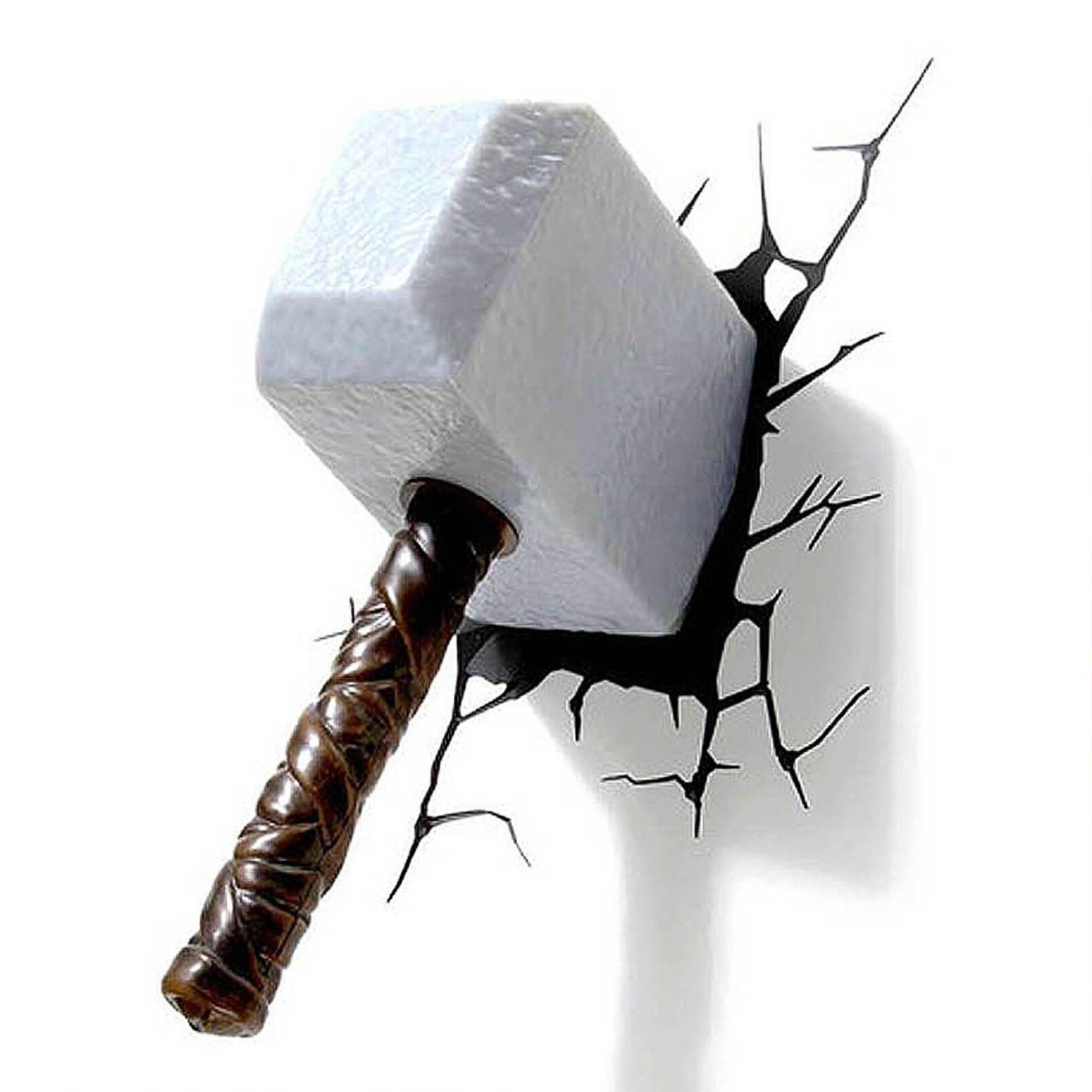 3d Wall Art Night Light 2019 Popular 3d Wall Art Thor Hammer Night Light