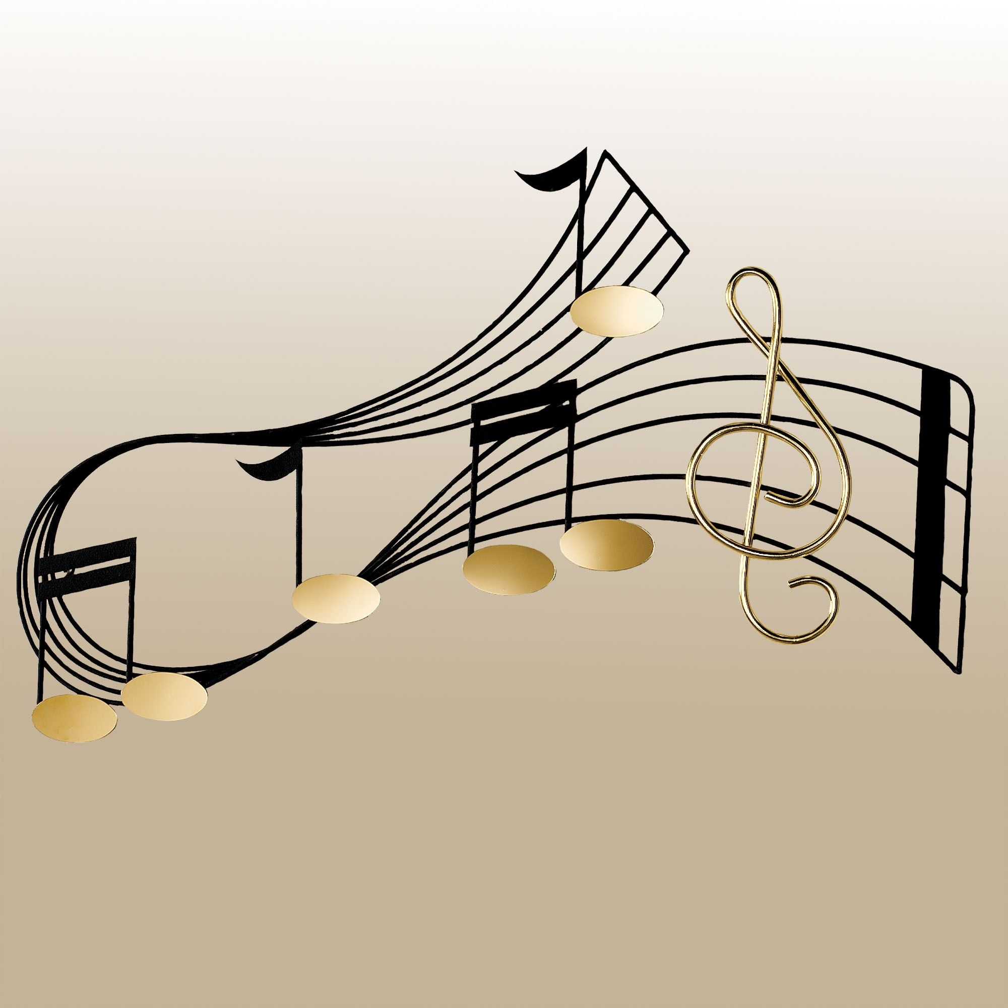 Music Notes Metal Wall Art 15 The Best Music Metal Wall Art