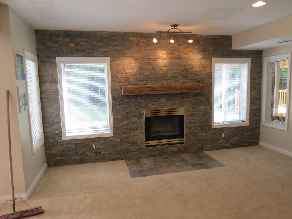 Accent Stone Wall 2018 Latest Wall Accents With Tv