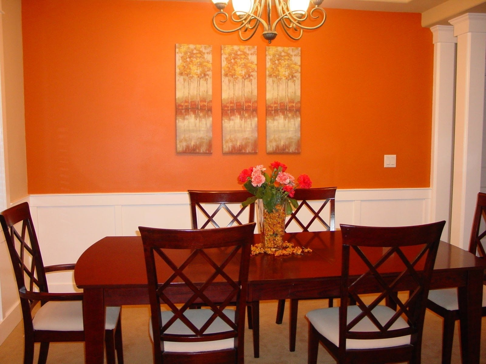 Accent Walls Paint Ideas Dining Room Paint Ideas With Accent Wall