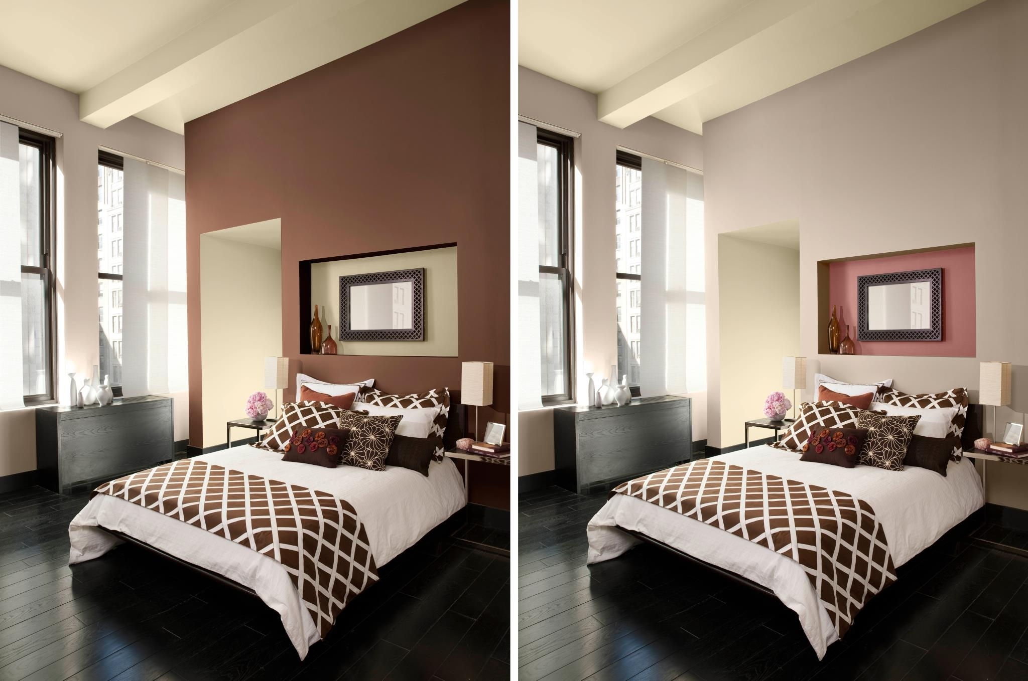 Accent Walls Paint Ideas Best 15 43 Of Brown Wall Accents