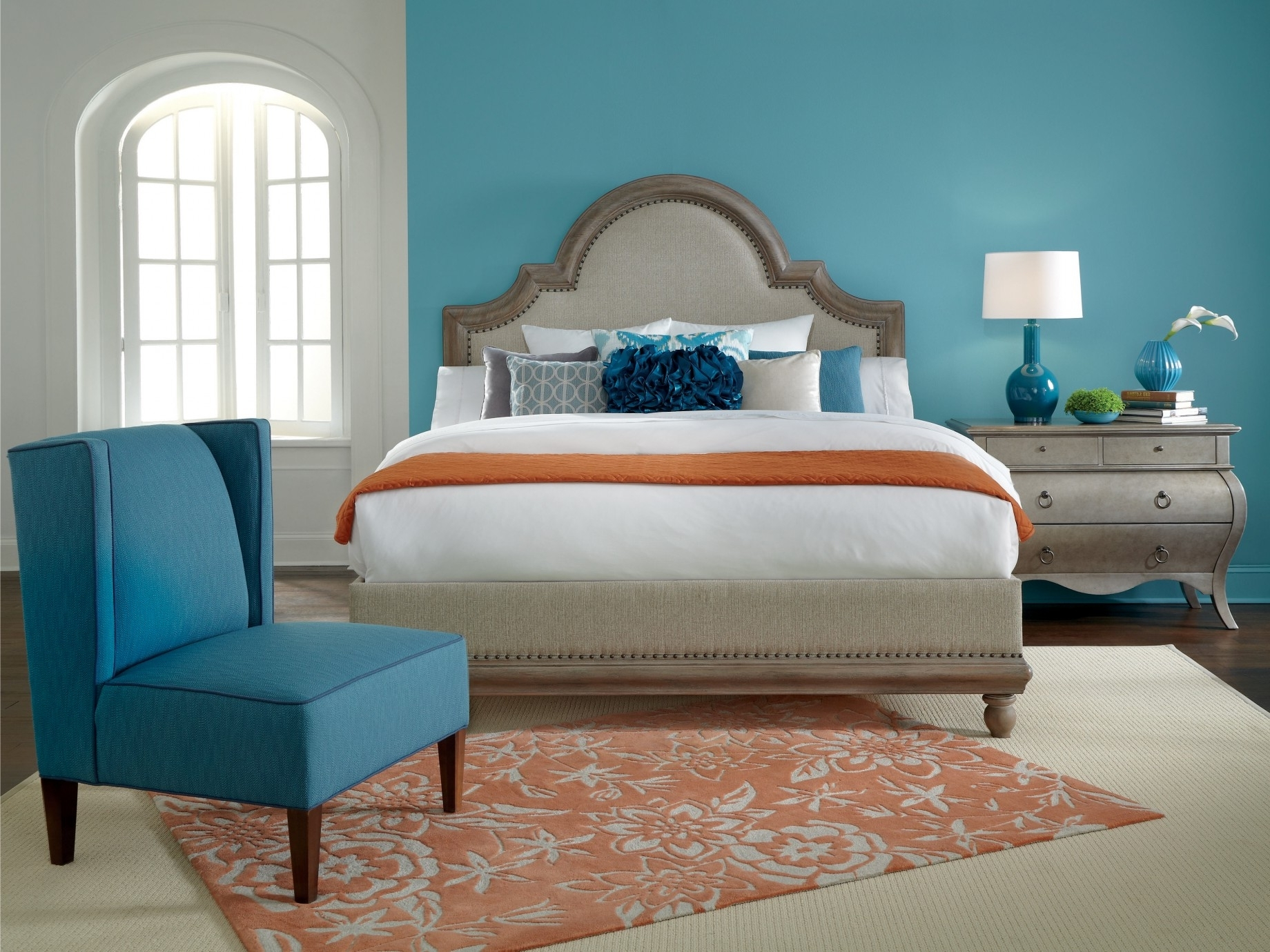 Bedroom Accent Colors 15 Inspirations Of Wall Accents Colors For Bedrooms