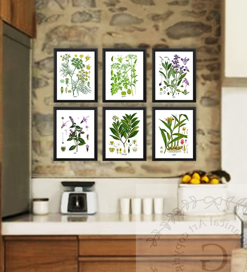 Herb Wall Best 20 43 Of Herb Wall Art