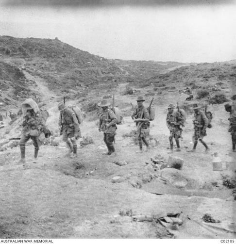 24th Battalion - Gallipoli