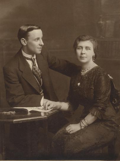 Tom Godfrey & Aunty Mill