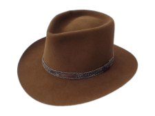 Smithbilt Hats Brown Fur Felt Western Cowboy Hat