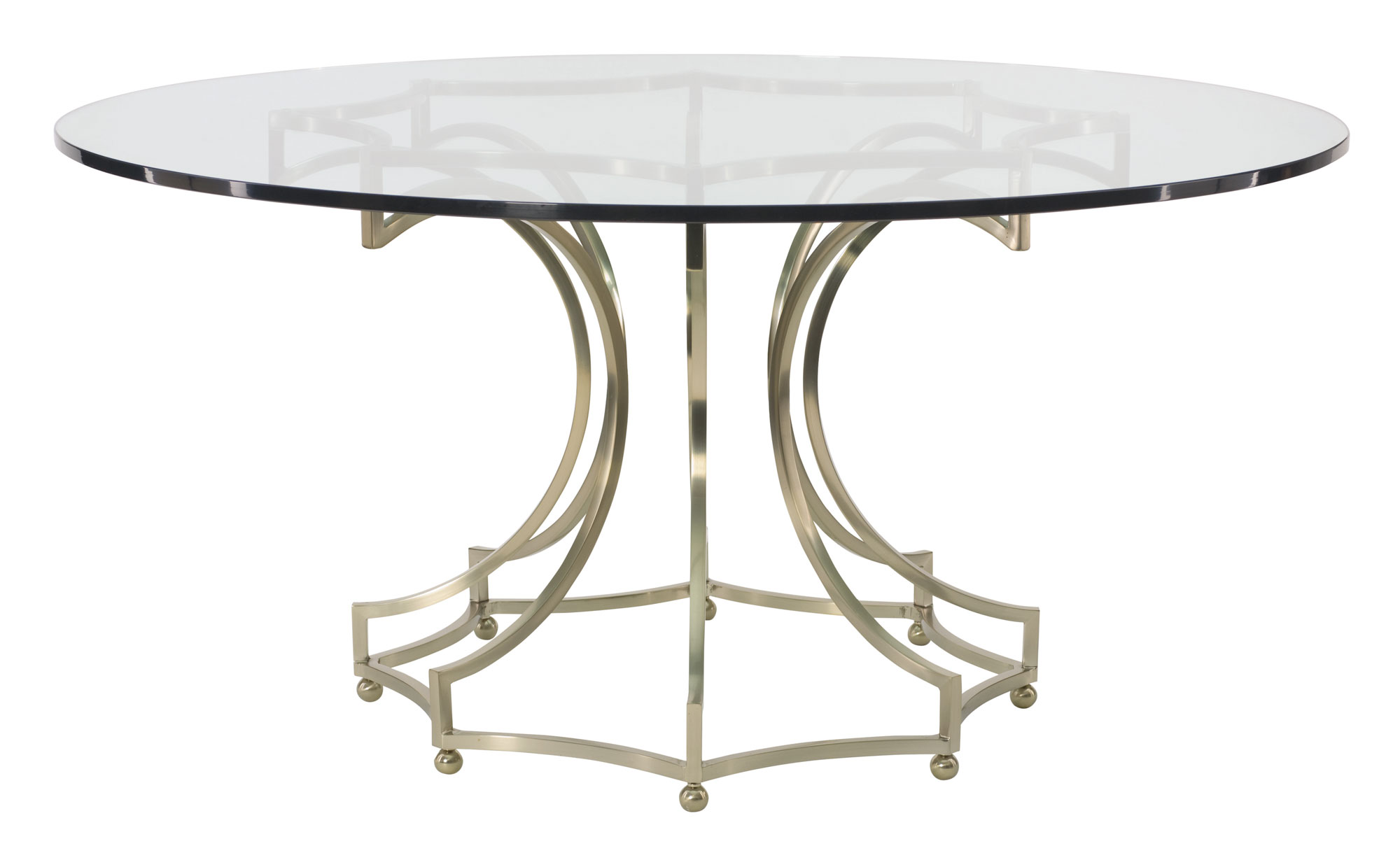Round Glass Top Dining Table Round Dining Table Bernhardt