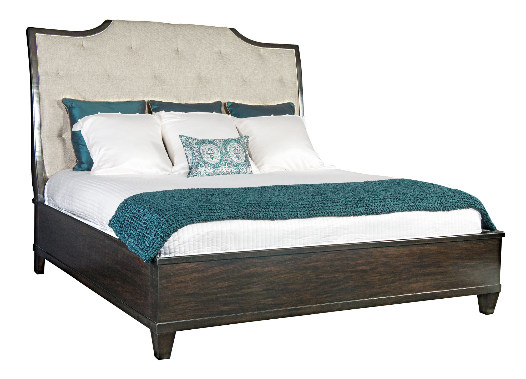 Fabric Beds Canada Upholstered Sleigh Bed Bernhardt