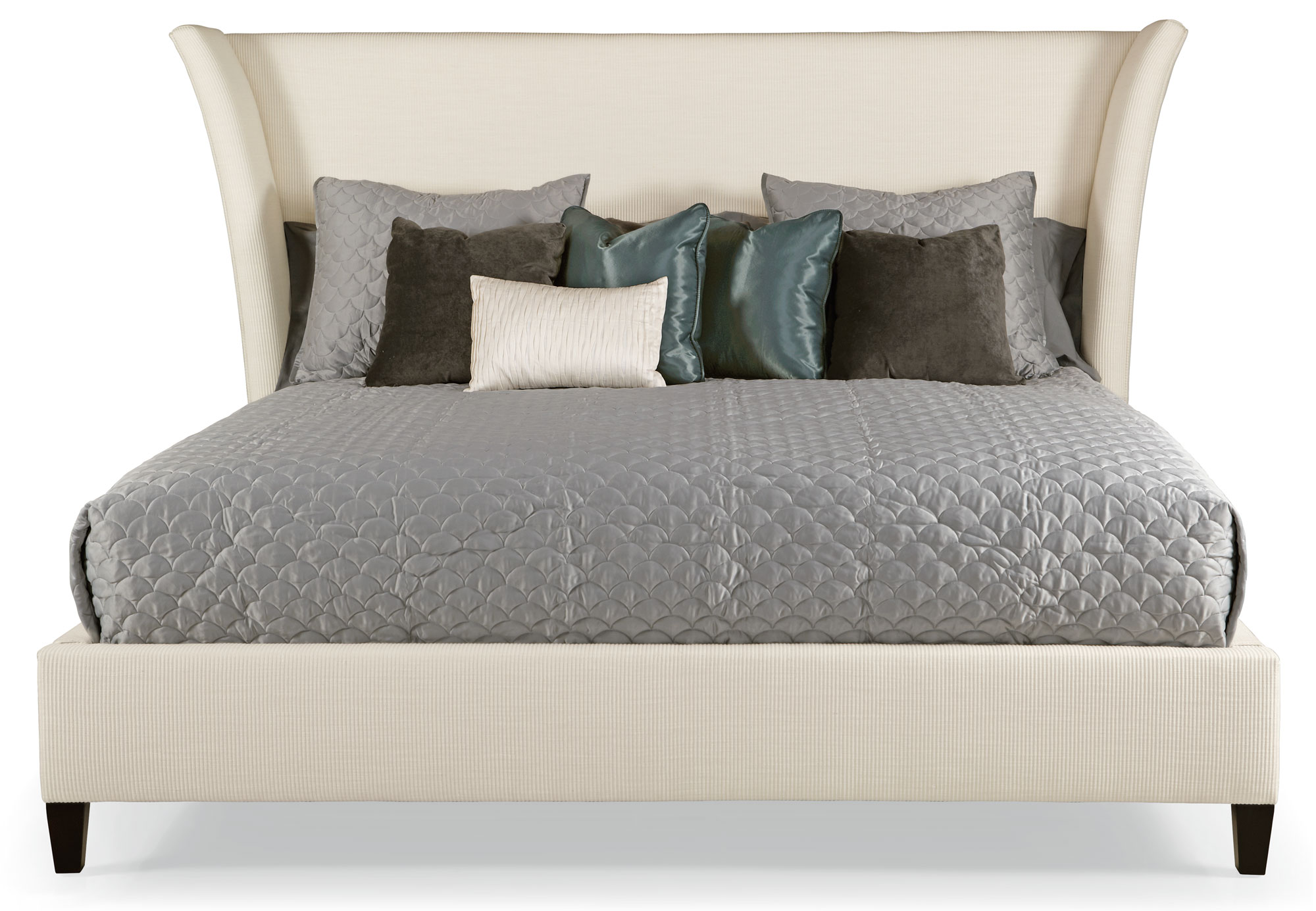 Fabric Beds Canada Flare Upholstered Bed Bernhardt