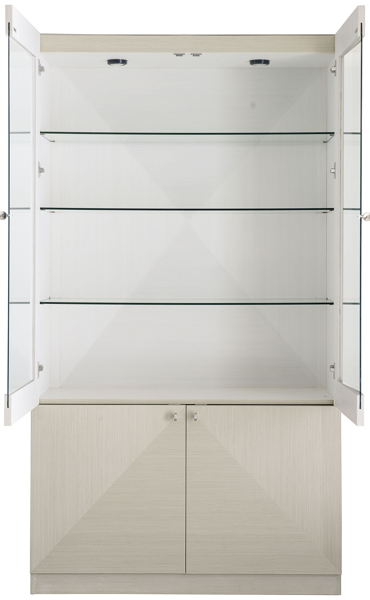 Etagere Axiome Display Cabinet Bernhardt