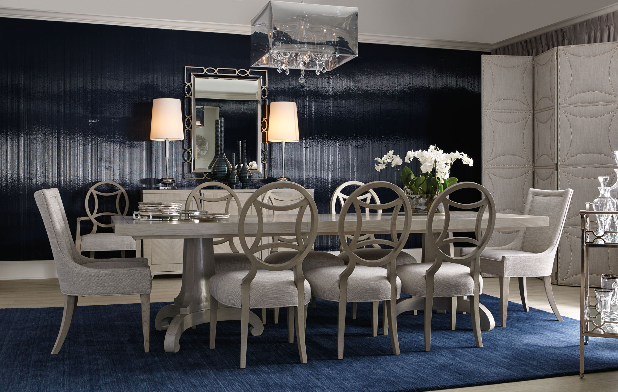 Side Arm Chair Criteria Dining Room | Bernhardt