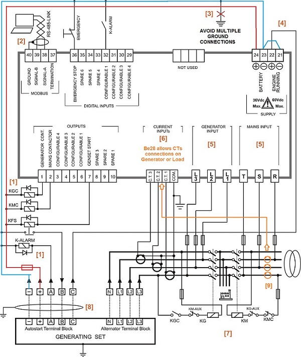 Automatic Transfer Switch Schematic Diagram Wiring Diagram