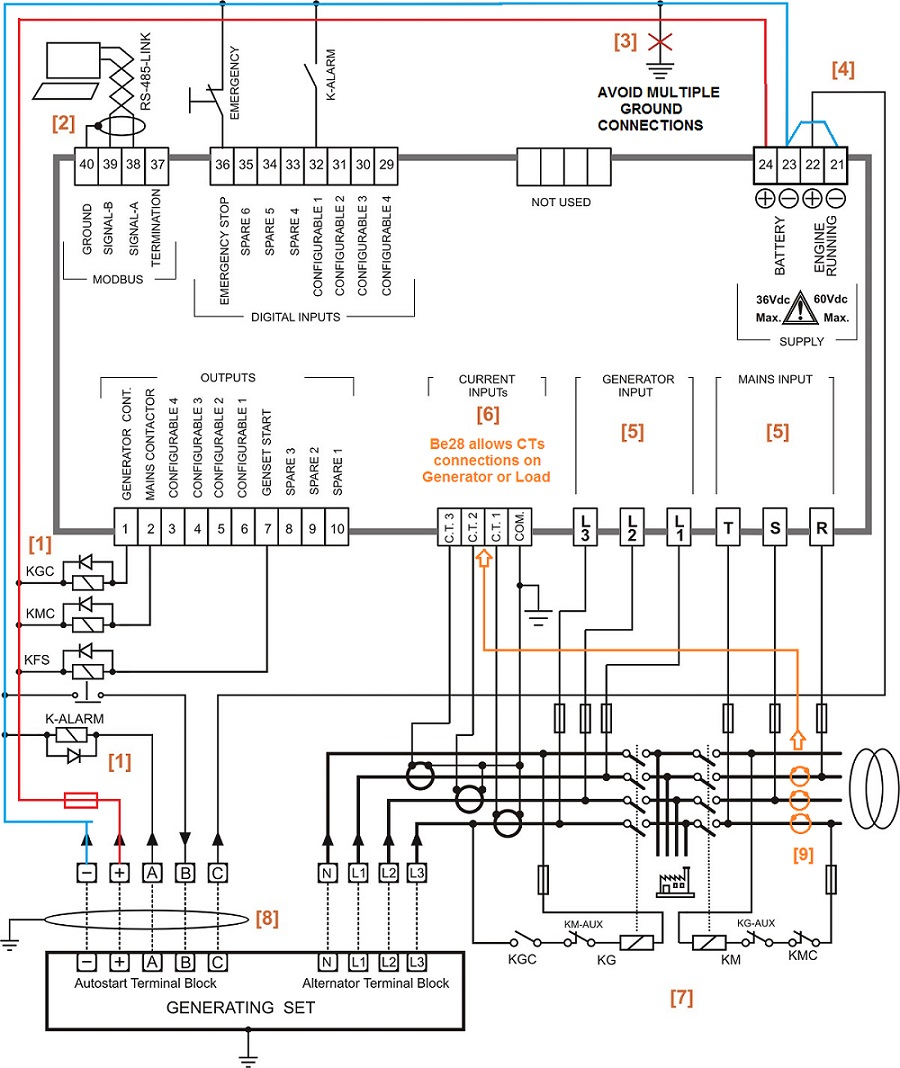 wiring diagram auto transfer switch