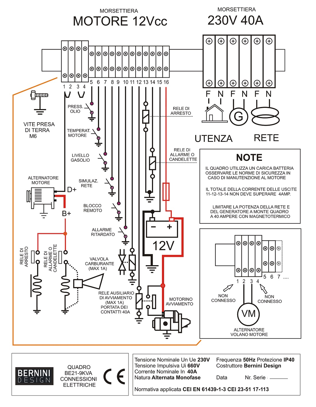 wiring diagram ats and amf