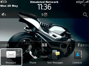 Cute Wallpapers For Blackberry Curve 8520 Tema Concept Bike Para Os 5 0 O Superior Berry Premium