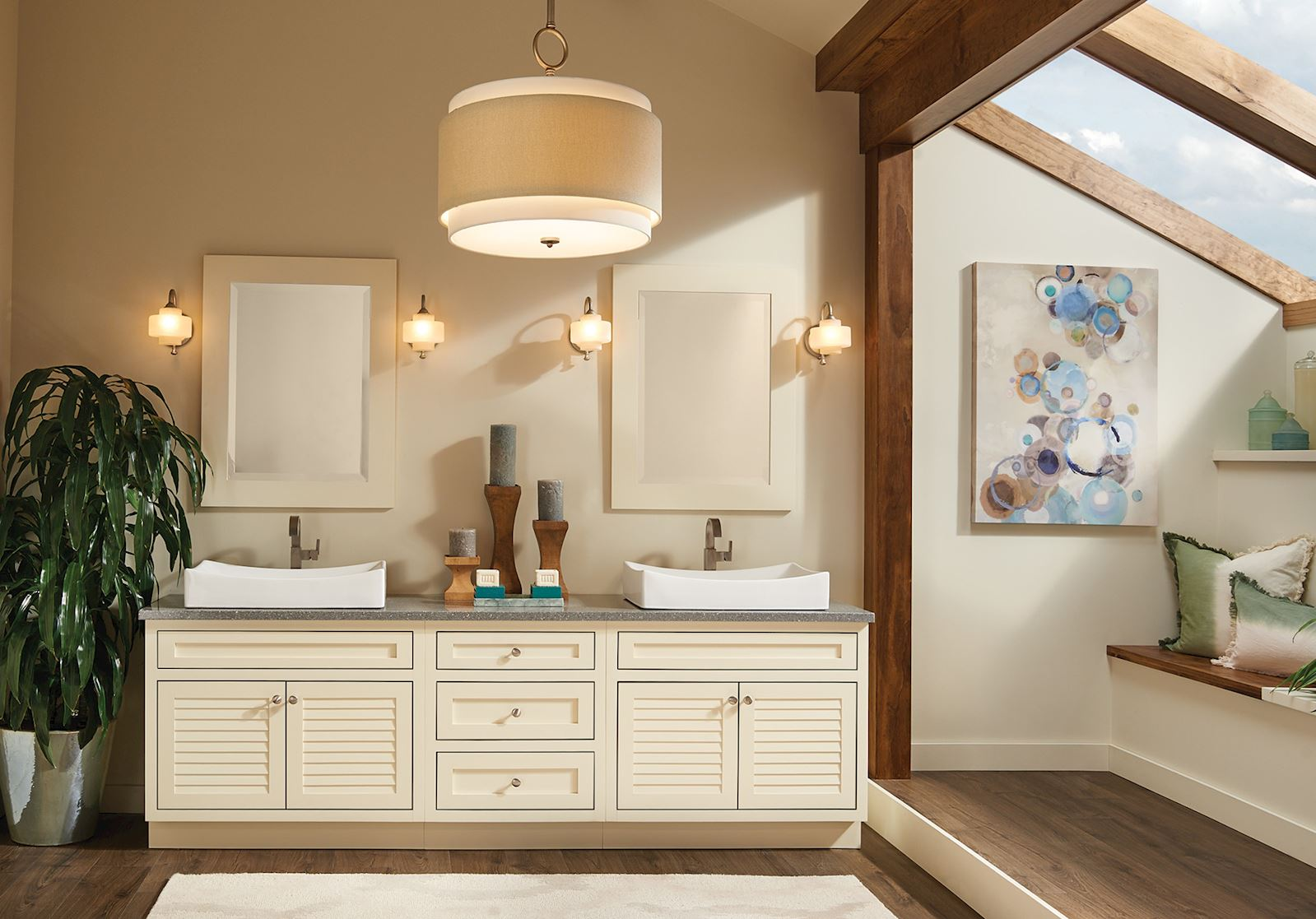 Finding The Right Bathroom Mirror Bertch Cabinet Manufacturing