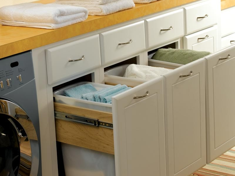 Kitchen Drawer Knife Organizer Cabinet Accessories For Custom Kitchen Cabinetry - Bertch