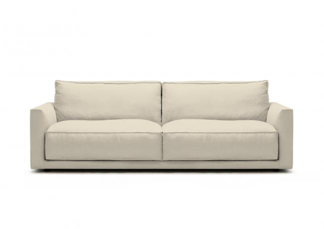 Schlafsofas Chesterfield Outlet | Sofa Aus Leinen Ribot - Berto Shop