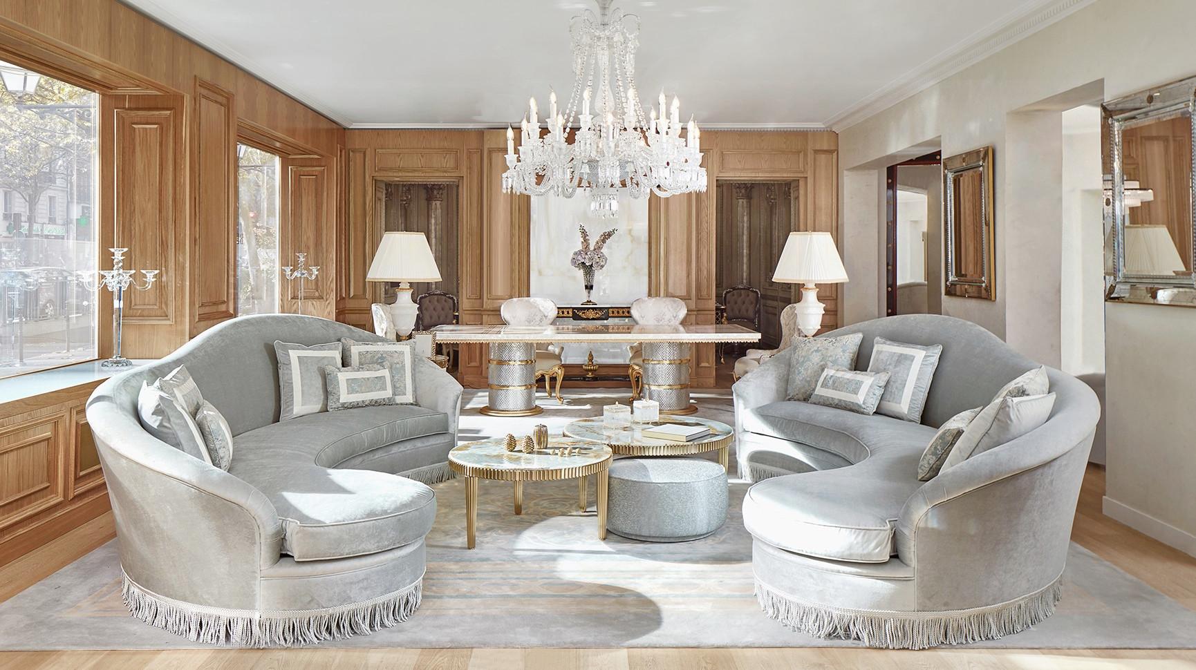 Decoration Salon Moderne De Luxe   Cuisine Modele Maison ...