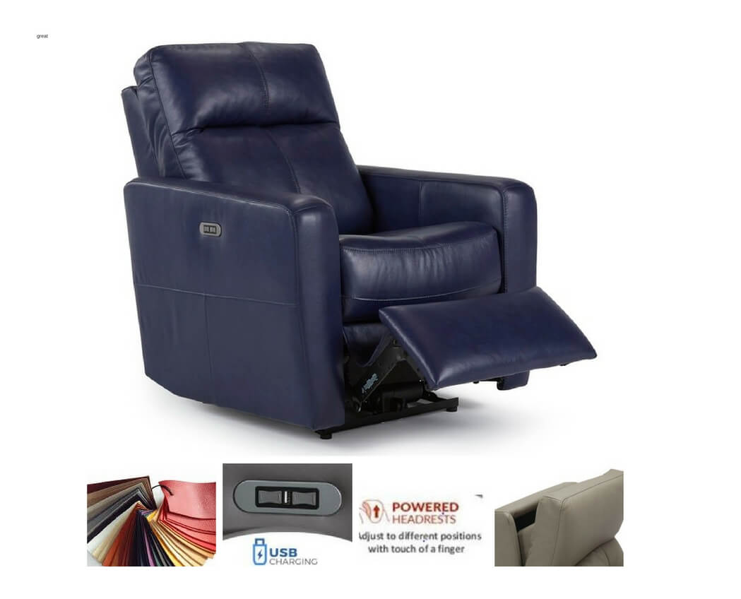 Chair Leather Reclining Swivel Leather Recliners Be Seated Leather Furniture Michigan S Best