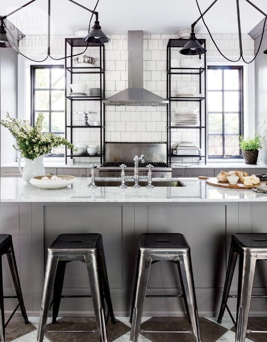 latest style home magazine featured beautiful kitchen home kitchen designs luxurious traditional kitchen ideas