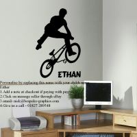 BMX wall art sticker Archives  Bespoke Graphics