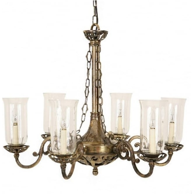 Chandelier Lamp Uk Empire Edwardian Hanging Ceiling Chandelier With Storm