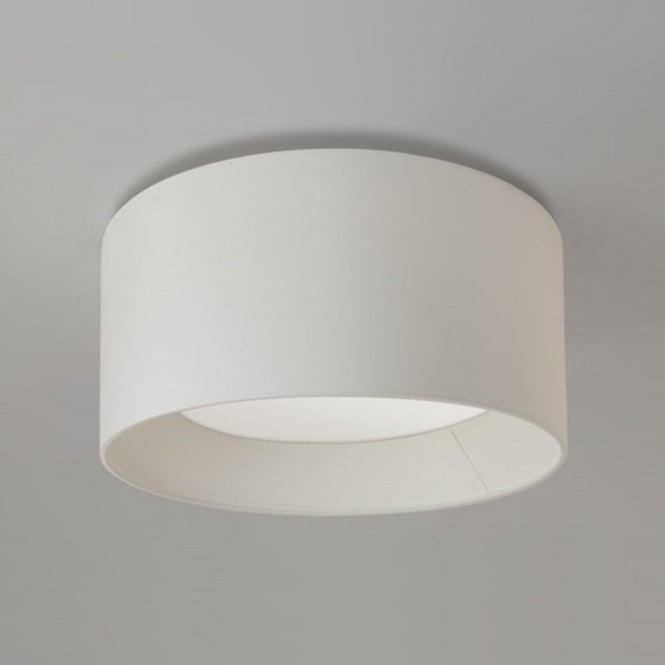 Vintage Deckenleuchte Circular Ceiling Light For Low Height Ceilings With White