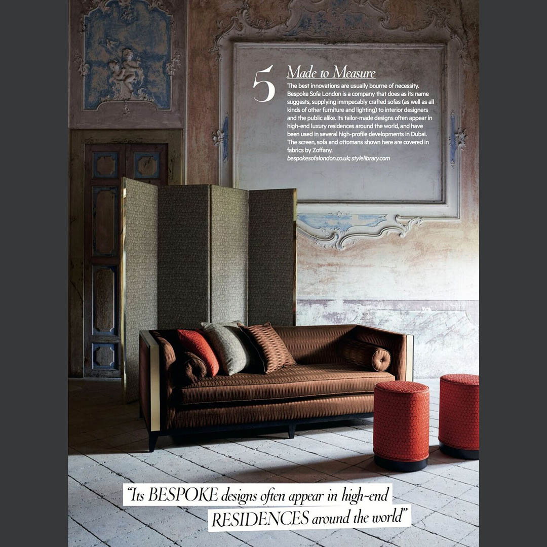 Interio Sofa Marilyn Press Bespoke Sofa London