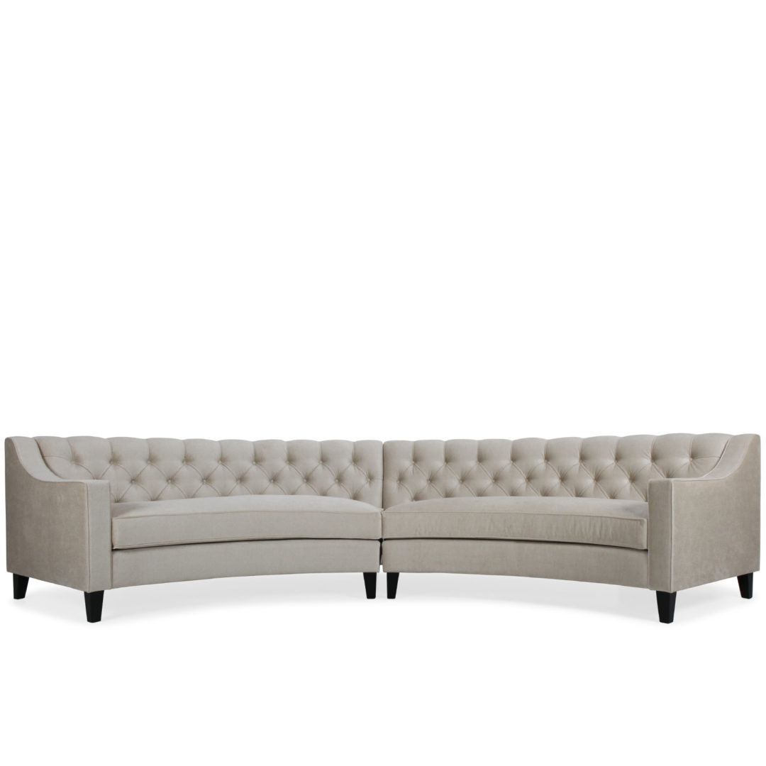 Curved Sofa Milton Curved