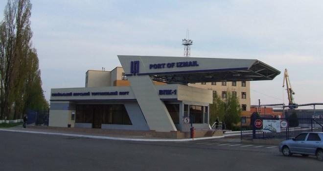 Грузовой порт Измаил