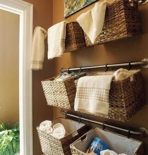 Badezimmer-organisieren-93 4 schöne tipps für aufbewahrung und - coole buchstutzen kreativ dekorativ stabil