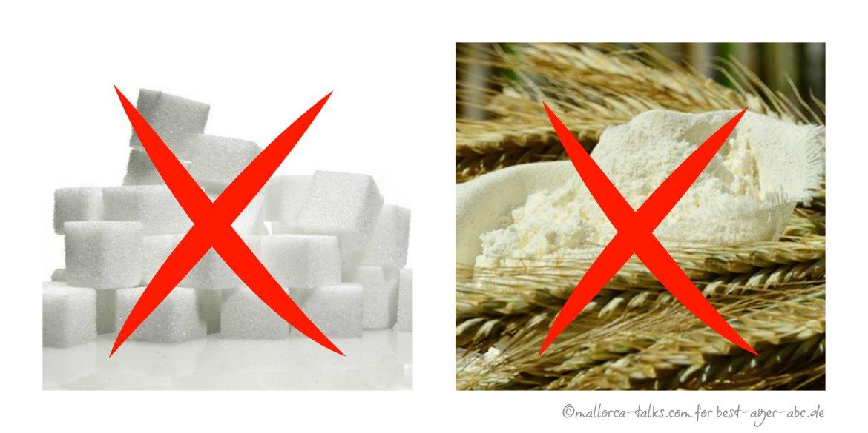 kein Zucker kein Mehl - effektiv abnehmen