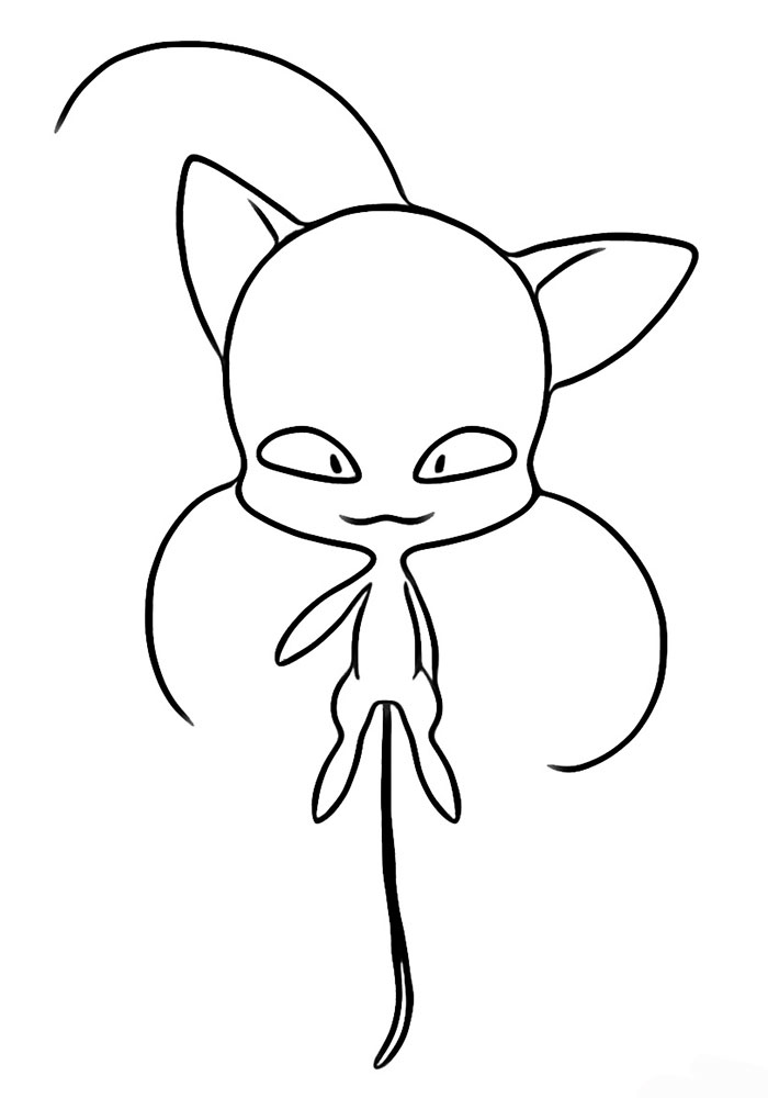 Ladybug And Cat Noir Coloring Pages - best of coloring pages with ladybugs