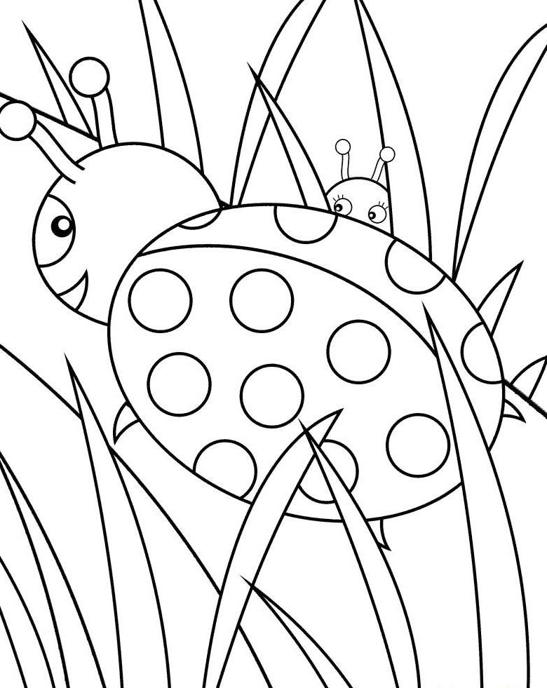 Ladybug coloring pages to download and print for free - best of coloring pages with ladybugs