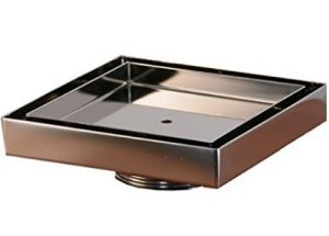 CopperLab 5X5 Square Stainless Steel Tile Insert Showers Drains Reviews