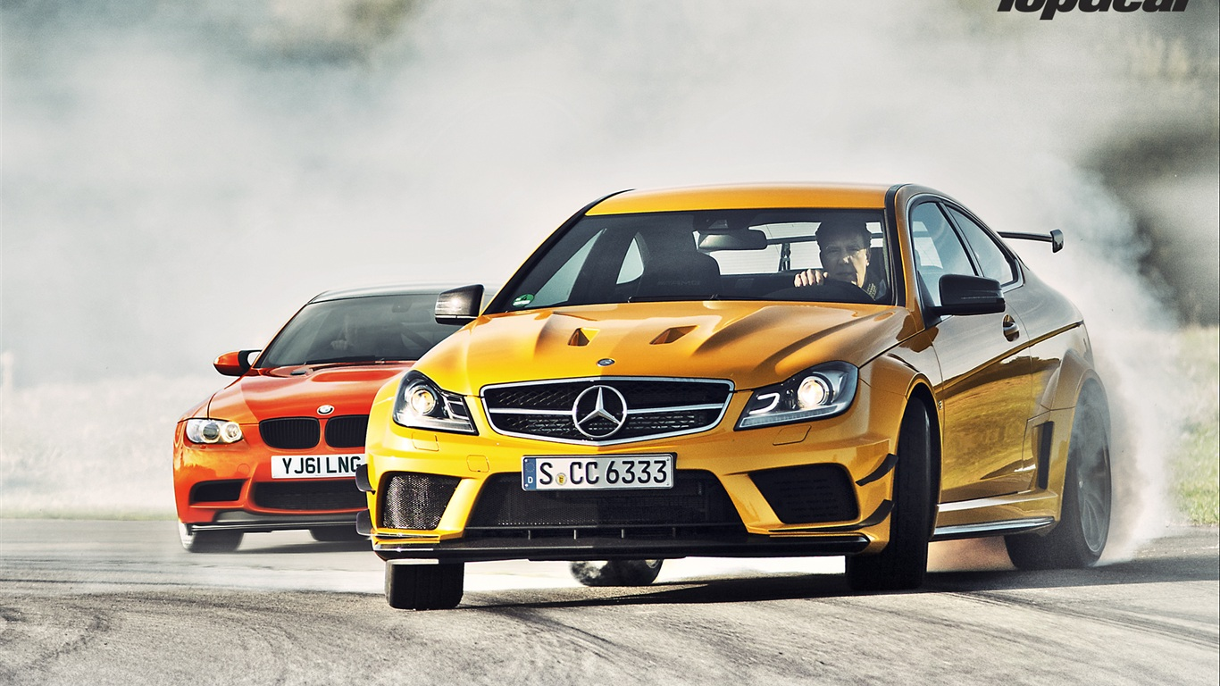 Bmw M Wallpaper Iphone X Wallpaper Mercedes Benz C63 Amg Yellow And Bmw M3 Gts Red