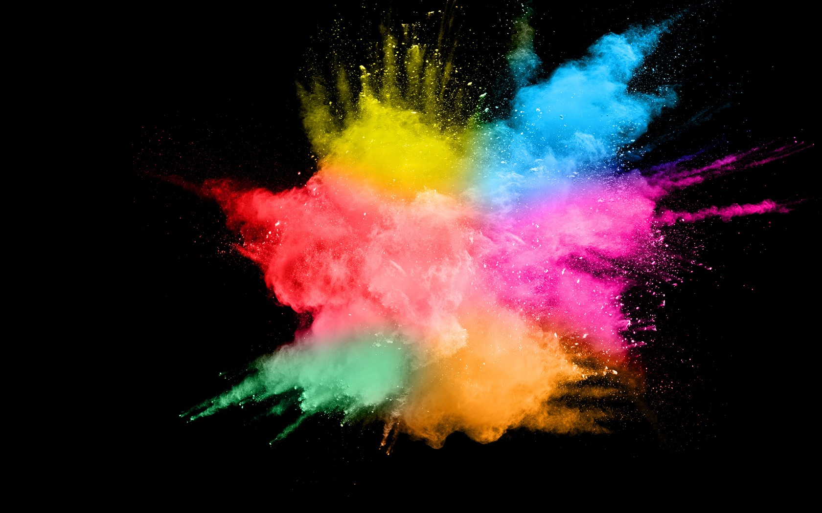 Best Iphone 4s Wallpapers Hd Wallpaper Colorful Smoke Splash Abstract Black