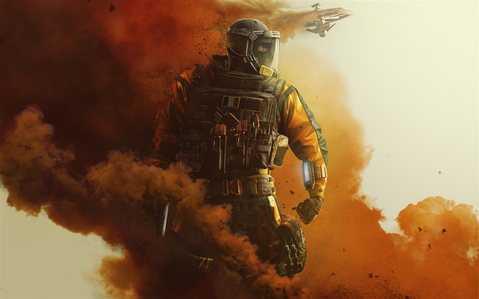 Iphone 6s Plus Wallpaper Hd Wallpaper Rainbow Six Siege Soldier Smoke Fighter