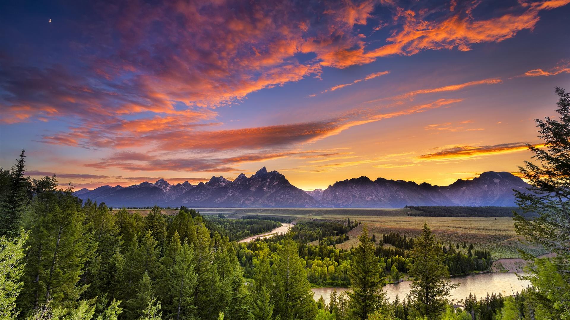 California Wallpaper Iphone 7 Wallpaper Grand Teton National Park Wyoming River
