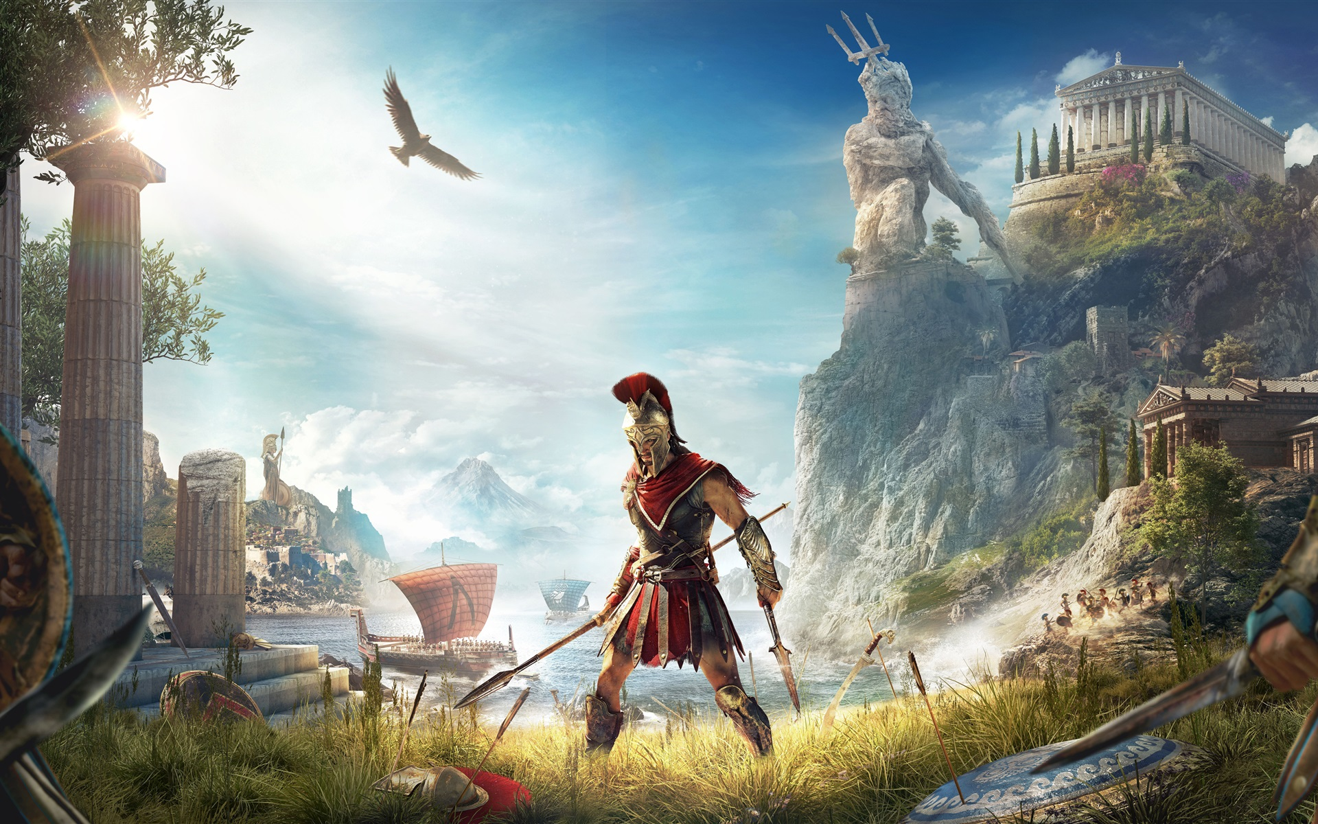Full Hd Widescreen Wallpapers 1920x1080 Wallpaper Assassin S Creed Odyssey E3 2018 3840x2160 Uhd