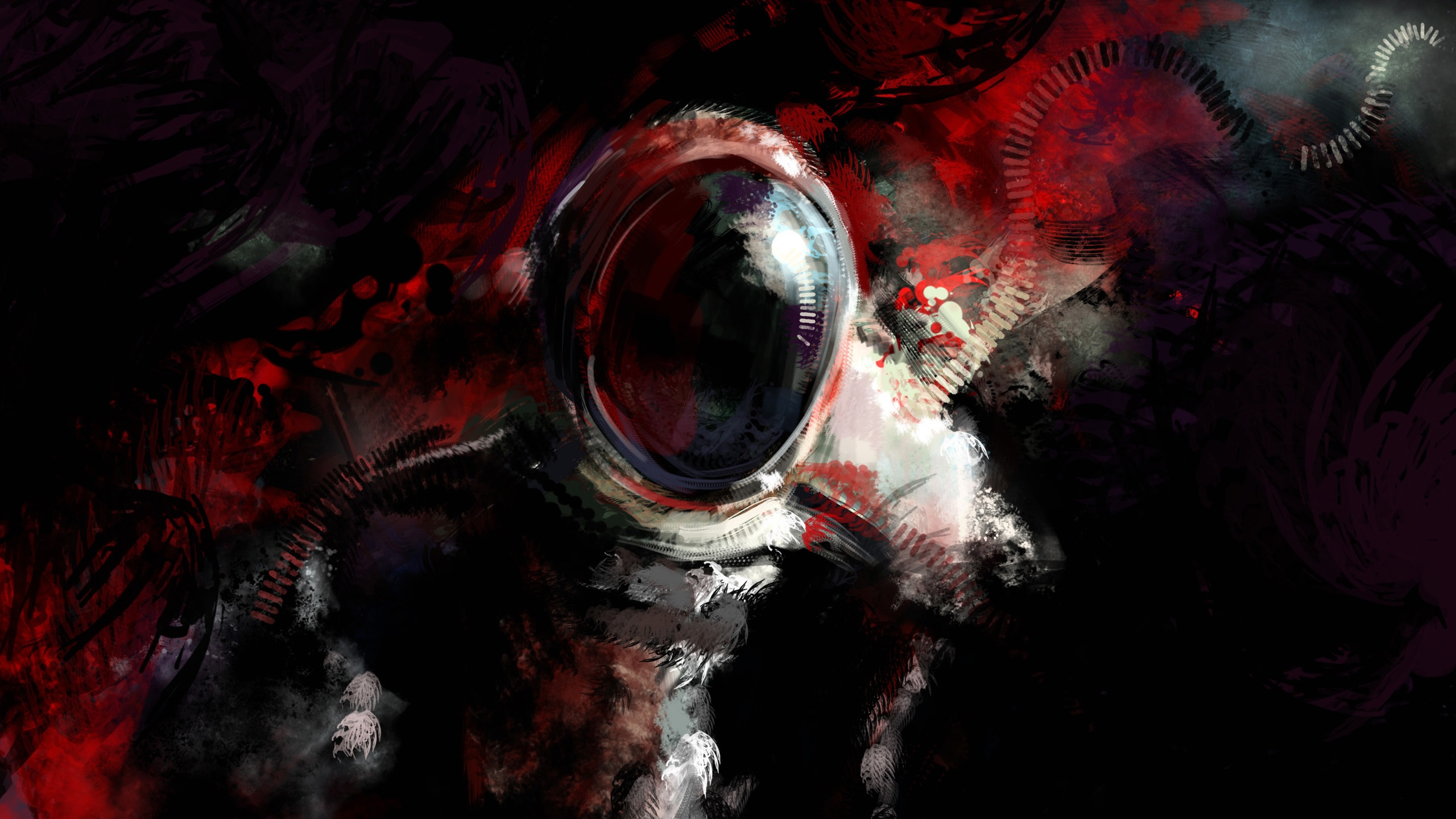 Iphone 5s Girl Wallpaper Wallpaper Astronaut Abstract Design 2560x1600 Hd Picture