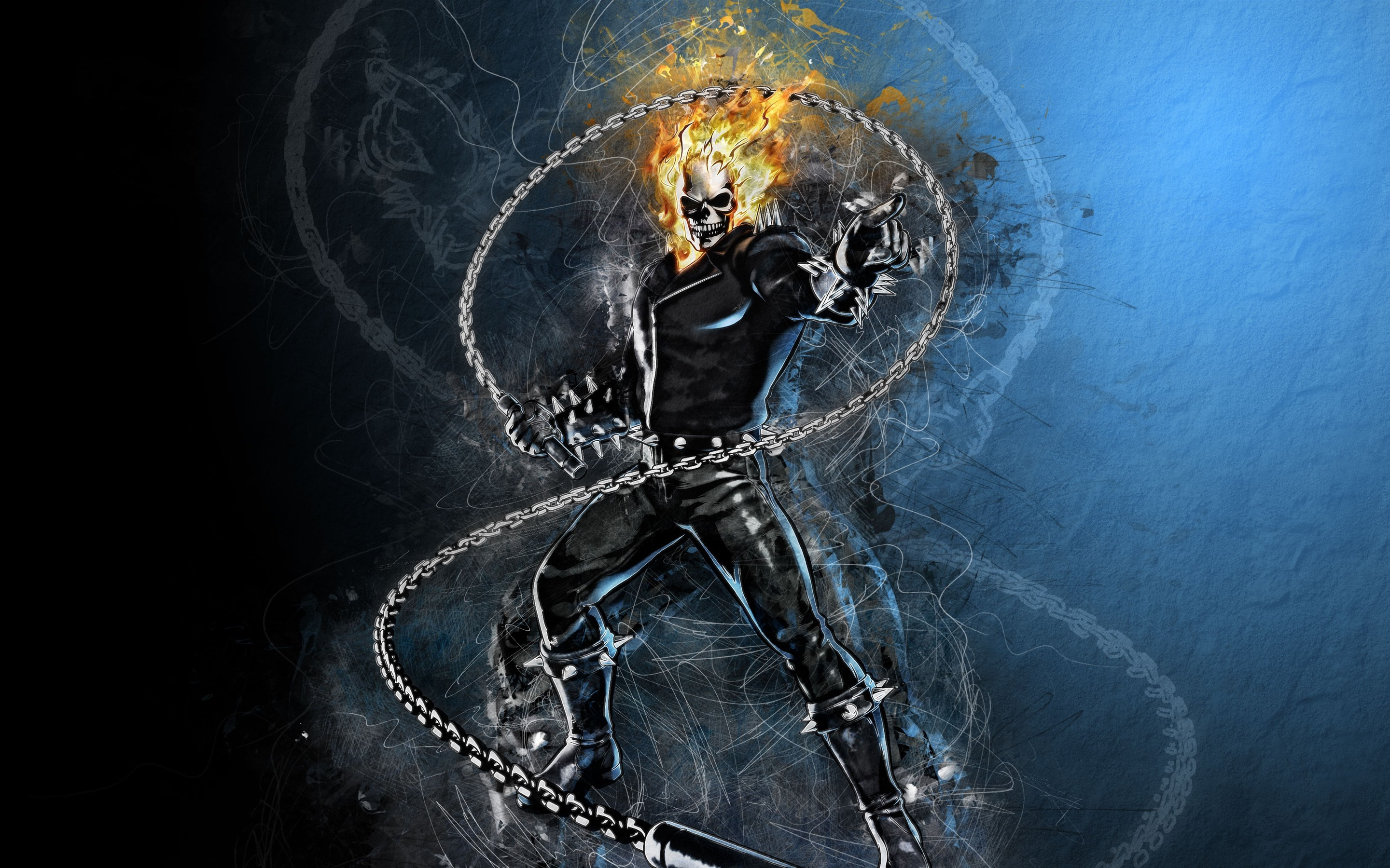 Wallpaper Hd Ghost Rider Wallpaper Ghost Rider Marvel Dc Comics Art Picture