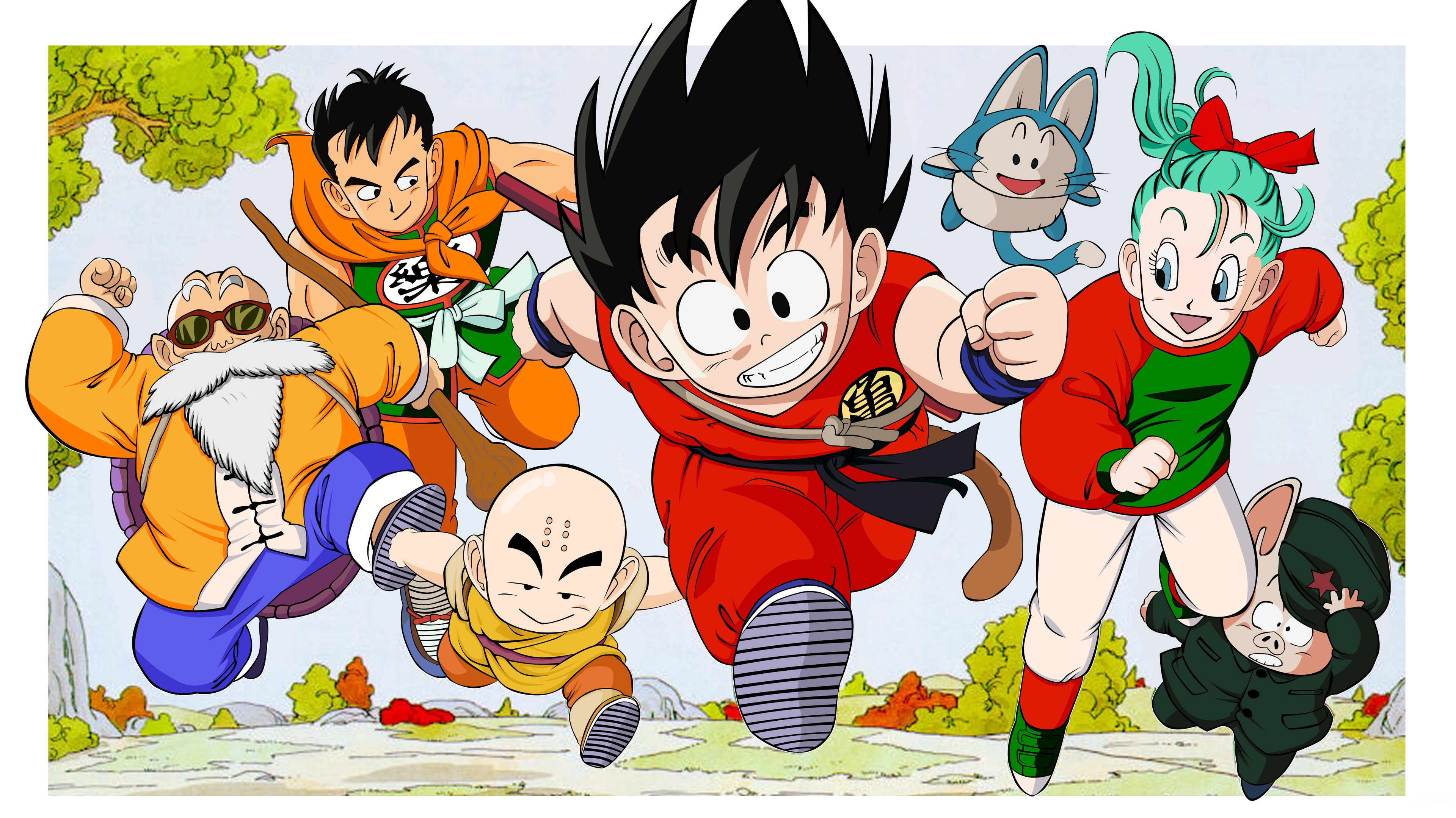 Cute Wallpapers Iphone 6 Plus Wallpaper Dragon Ball Classic Anime 3840x2160 Uhd 4k