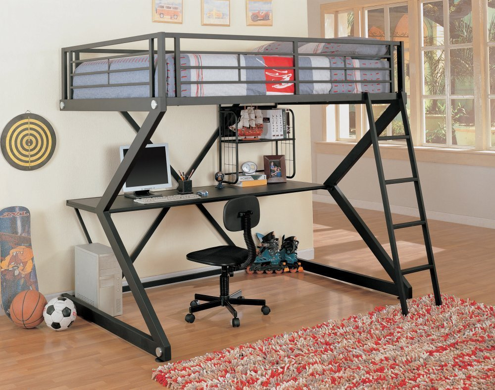 Bed With Desk Most Comfortable And Best Loft Beds For Kids With Desk